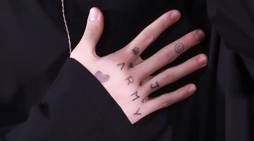 Is BTS JungKook's Hand Tattoo Real Or Fake?