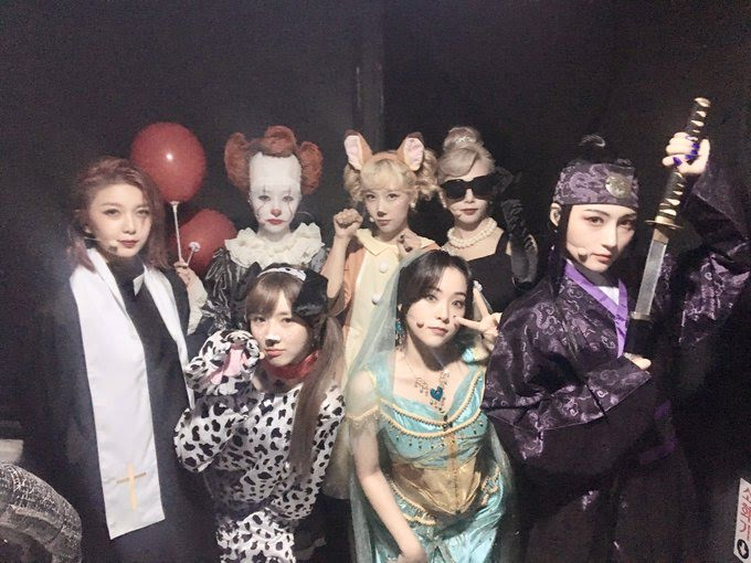 The Best Halloween Costumes By K-Pop Idols This Year In 2019