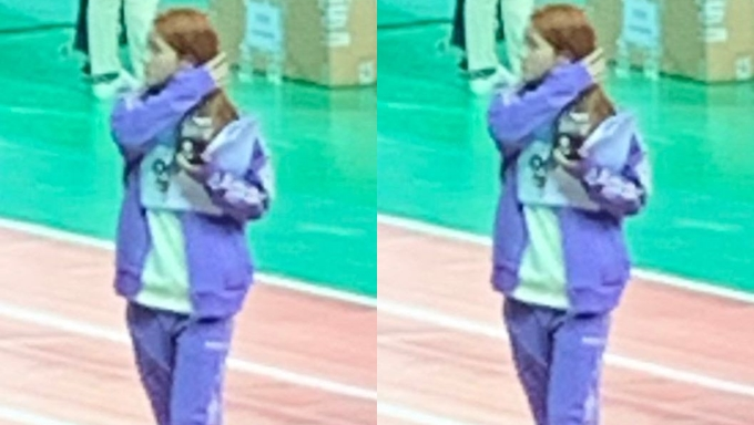 """The K-Pop Idol Who Studied For Her Finals During """"ISAC 2020"""" Recording"""