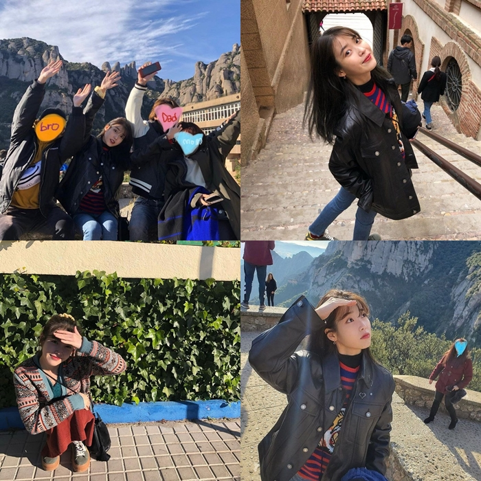 IU Looks Lovely While Traveling With Family