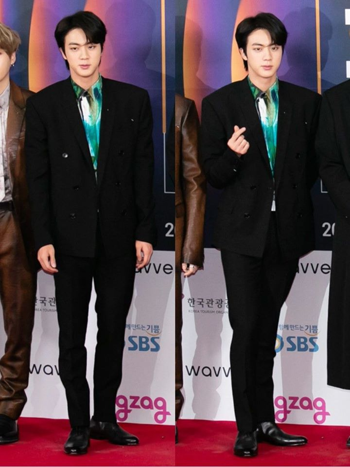 Who Wore It Better BTS's Jin Or EXO's SeHun?