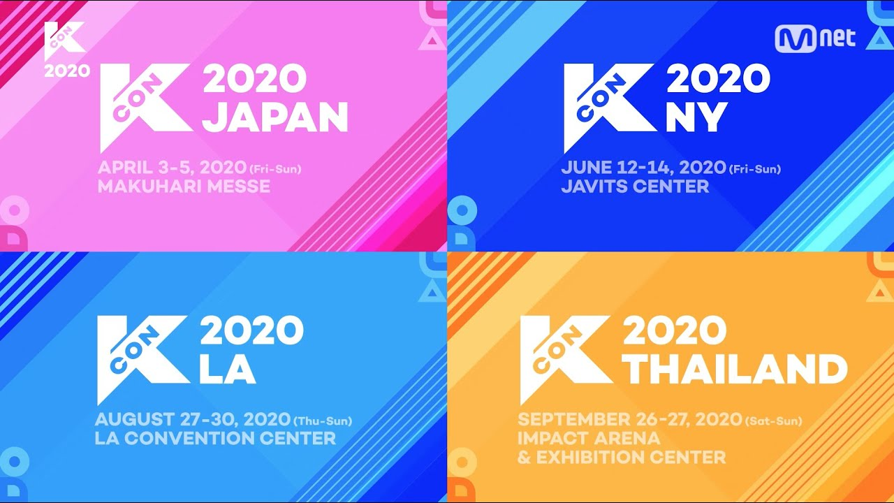 KCON, World's Largest K-Culture Convention & Festival, Announces Dates And Venues For 2020