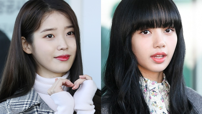 Iu Blackpink S Lisa Are Two Airport Goddesses Leaving For Italy