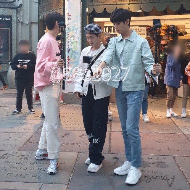 Kim MinKyu, Lee JinHyuk, & Lee SeJin Spotted Filming Together In LA