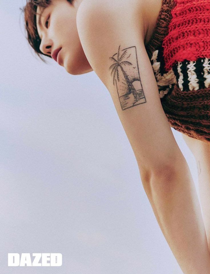 Cho SeungYoun Shows Off His Tattoos In Pictorials With '1st Look' And 'Dazed'