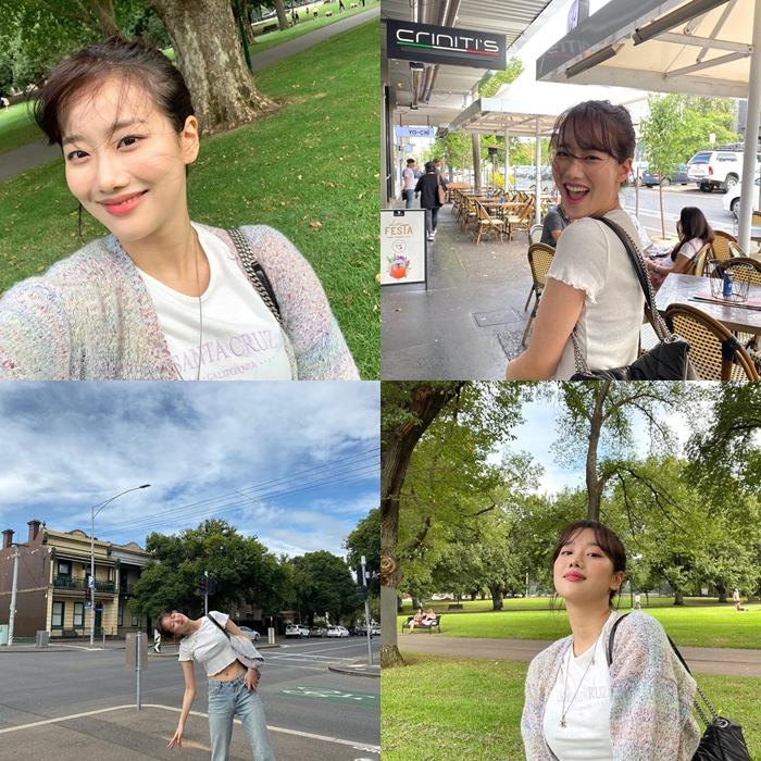 April's NaEun Wows With Gorgeous Visual While Traveling In Australia Feat. Kim HyeYoon & SoMin's Comments