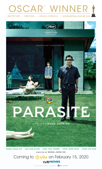 """Oscar's Best Picture """"Parasite"""" will be available for streaming on Viu"""