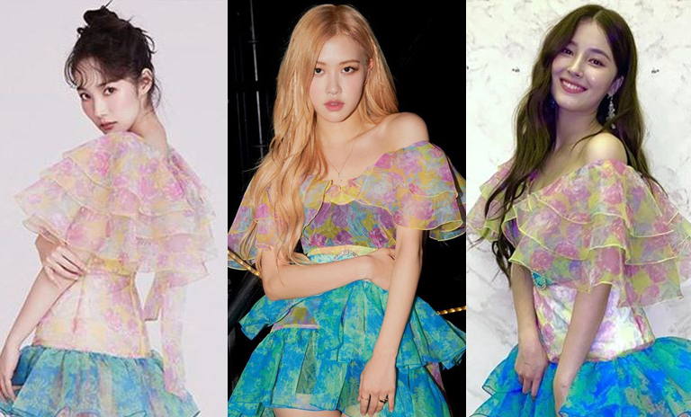 Check Out The Dress Worn By Park Minyoung Blackpink S Rose And Momoland S Nancy Kpopmap Kpop Kdrama And Trend Stories Coverage