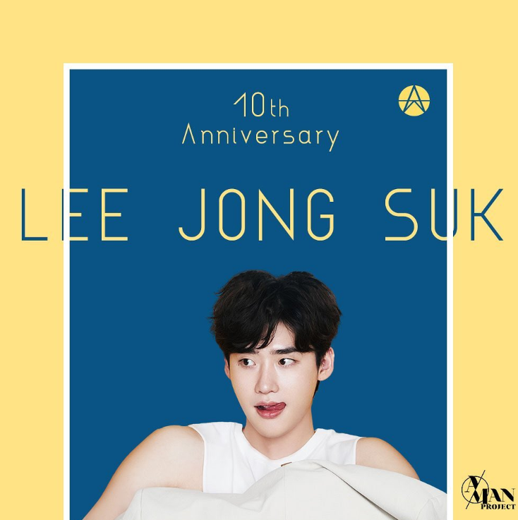 Lee JongSuk Celebrates His 10th Year Anniversary Since Acting Debut
