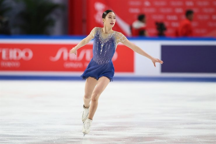 Professional Figure Skater Wants To Go On Date With BTS V
