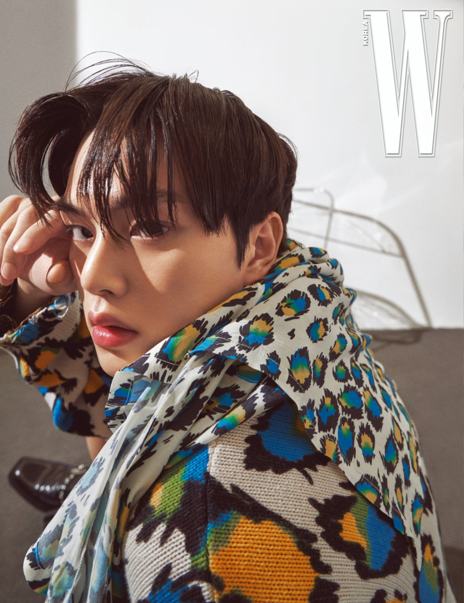 Song Kang For W Korea Magazine April Issue | Kpopmap
