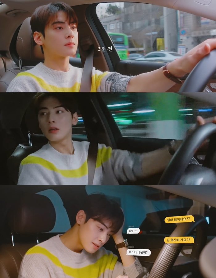 ASTRO's Cha EunWoo Shows Off His Boyfriend Material Sides By Making A Cake And Driving