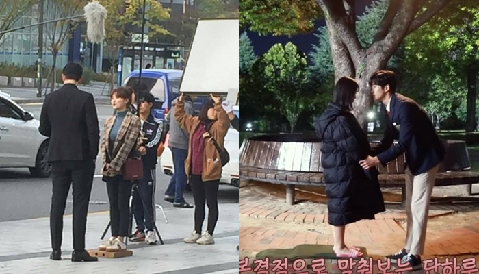 The Method To Film The 27cm Height Difference Couple UP10TION's Lee JinHyuk & Kim SeulGi In One Frame