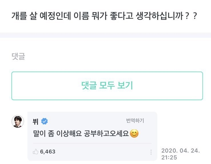 Netizens Debate About BTS V's Weverse Response To Foreigner