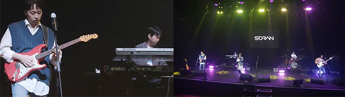K-Band SORAN Successfully Finished Untact Concert 'PERFECT Streaming' With Sinhan Card