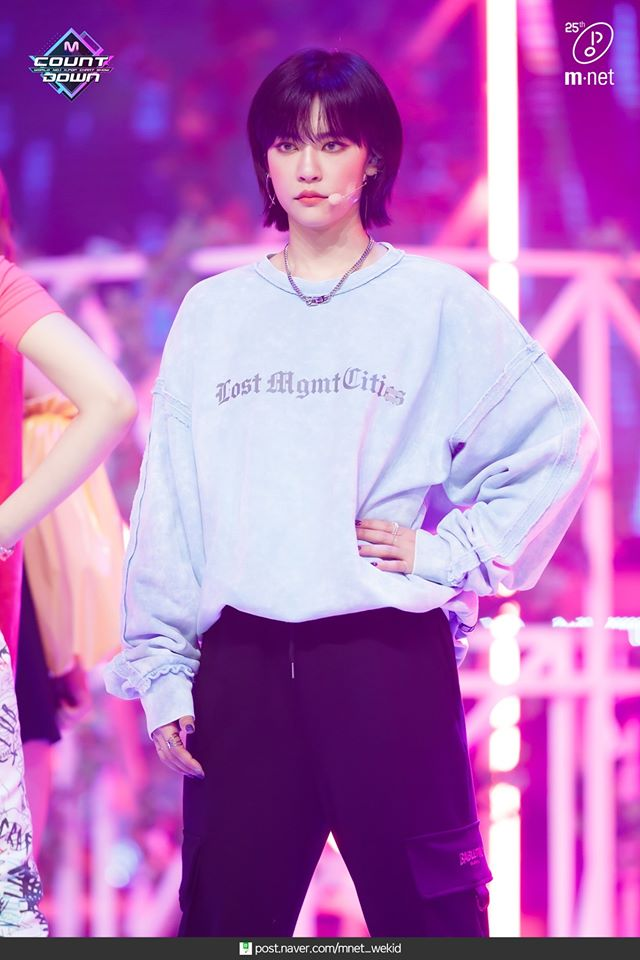 GWSN's Miya Gains Attention For Her Black Short Hairstyle