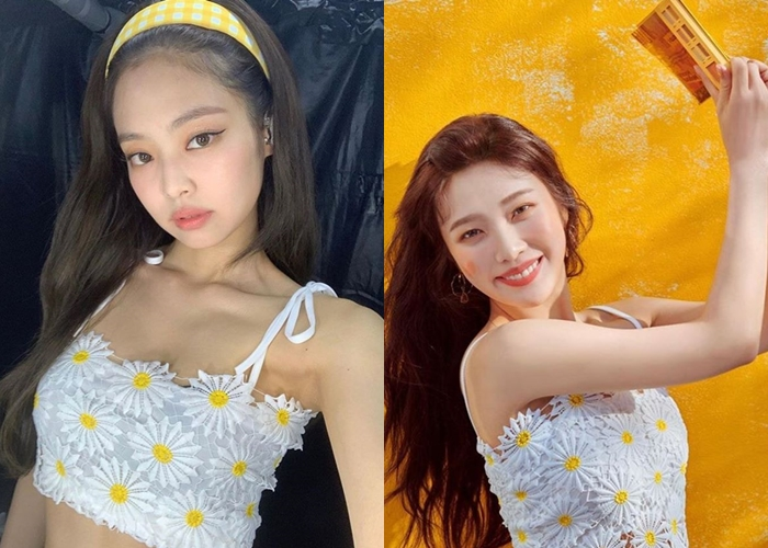 BLACKPINK's Jennie And Red Velvet's Joy Seen Wearing The Same Outfits In 3 Occasions