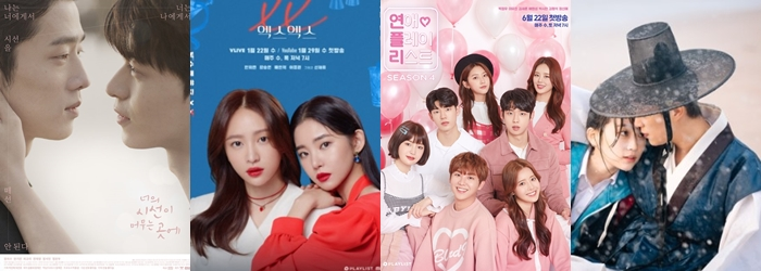 10 Most Searched Web Dramas In Korea (Based On June 23 Data)