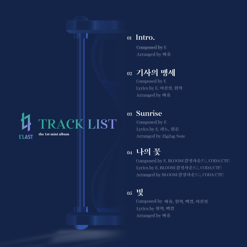 """E'LAST Takes An Exciting First Step With Debut Mini-Album, """"DAY DREAM"""""""
