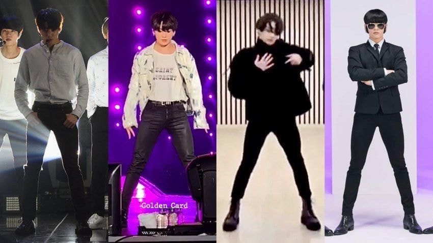 JungKook Probably Gets His Pants Customized Based On This Lower Body Part