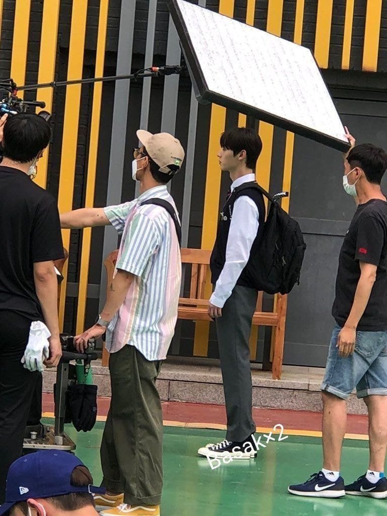 Hwang MinHyun Spotted Filming For Upcoming K-Drama
