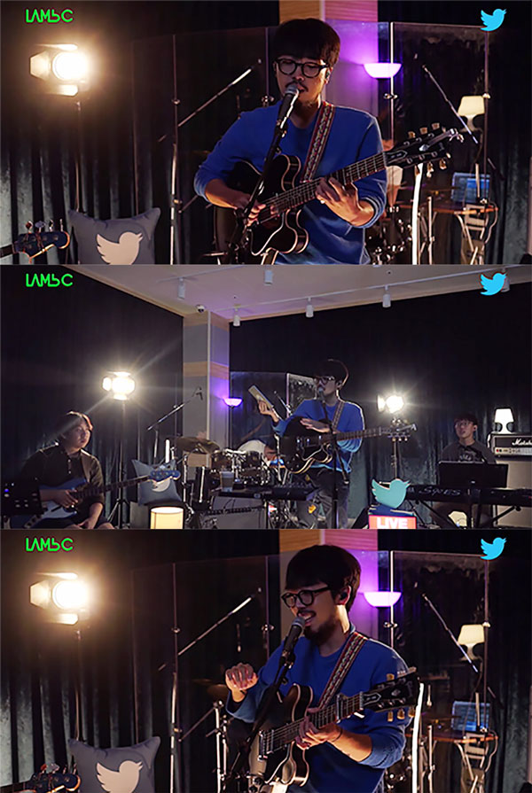 """South Korean Singer-songwriter LambC, Twitter Blue Room Live To Commemorate The Release of The New EP, """"Records 920,000 cumulative viewers."""""""
