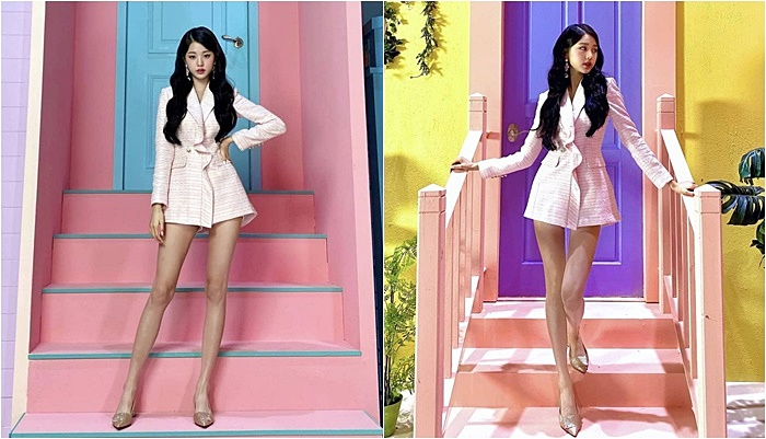 4 Times IZ*ONE Jang WonYoung Stunned Everyone With Her Fashion Friendly Figure