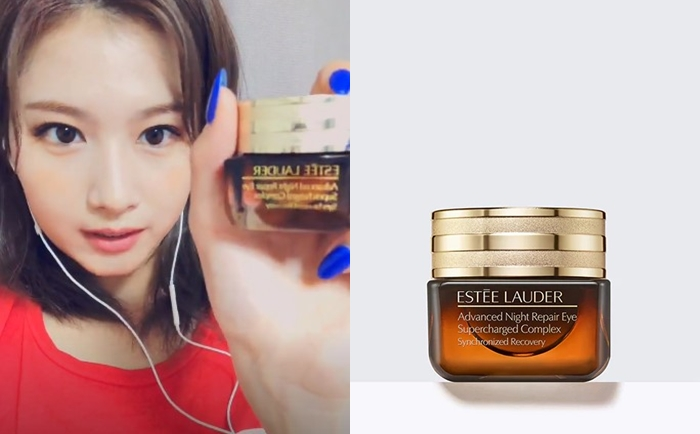 TWICE's Sana Shares Her Night Skin Care Products On V-Live