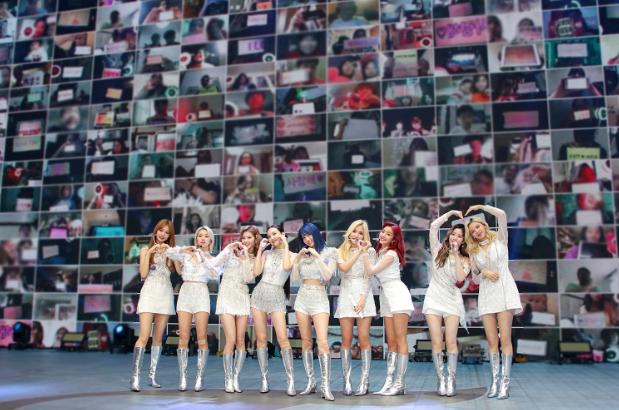 "K-Pop Superstars TWICE, Host Live Online Concert ""BEYOND LIVE - TWICE: WORLD IN A DAY"""