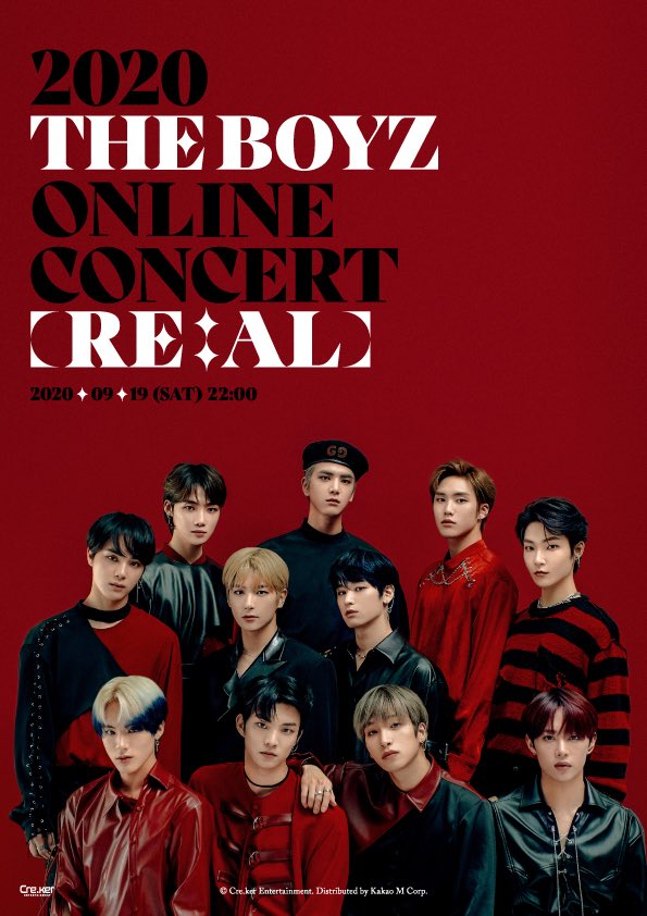 2020 THE BOYZ ONLINE CONCERT [RE:AL] : Live Stream And Ticket Details