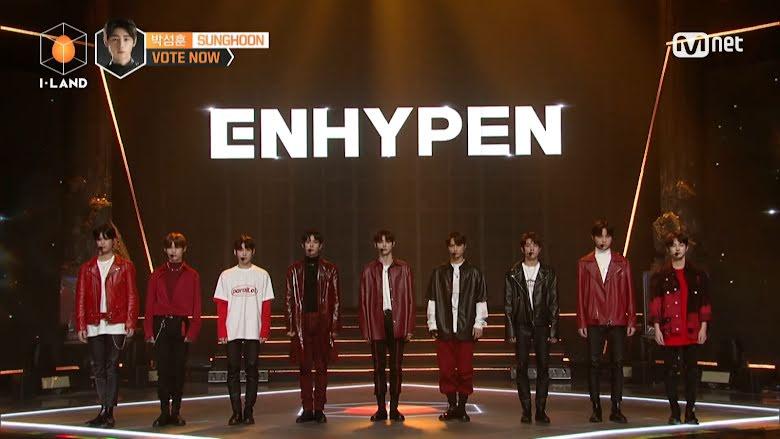 I-LAND Boy Group Name Announced