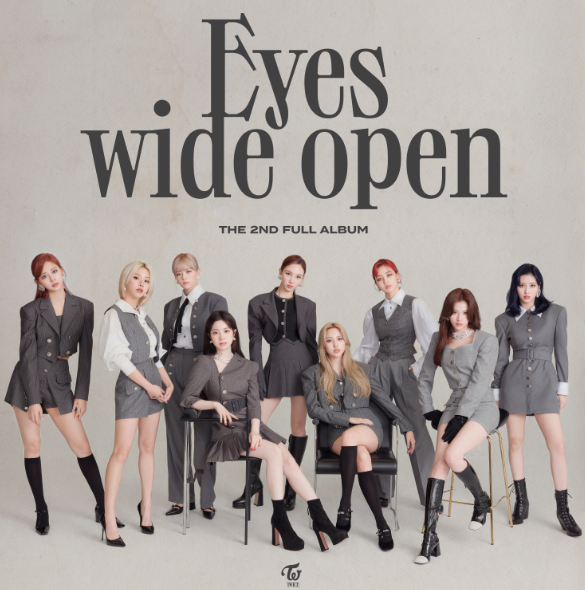 """TWICE Releases Second Full-Length Album """"Eyes wide open"""", Co-Writers And Producers Include Dua Lipa And Heize"""