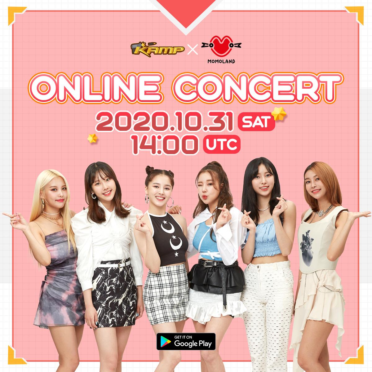KAMP X MOMOLAND Online Concert 2020: Live Stream And ...