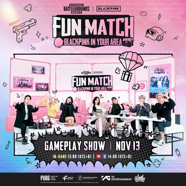 """Blackpink Drops Into Pubg Mobile For """"Fun Match"""" Gameplay Broadcast On Nov 13"""