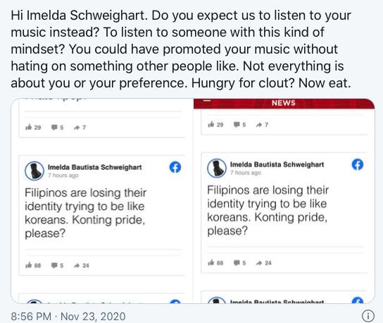Imelda Schweighart Says She Hates K-Pop