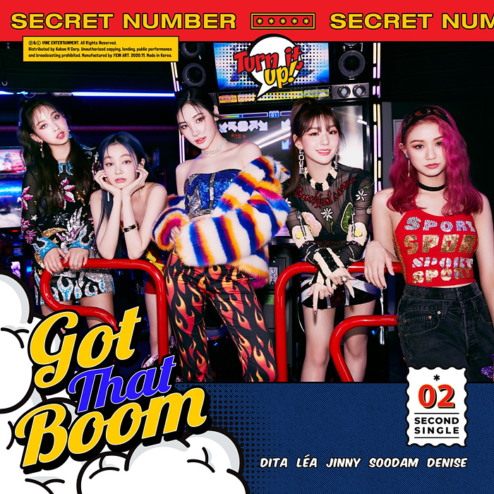 """SECRET NUMBER, """"Global Rookie,"""" Makes Comeback With 2nd Mini-Album, """"Got That Boom"""""""