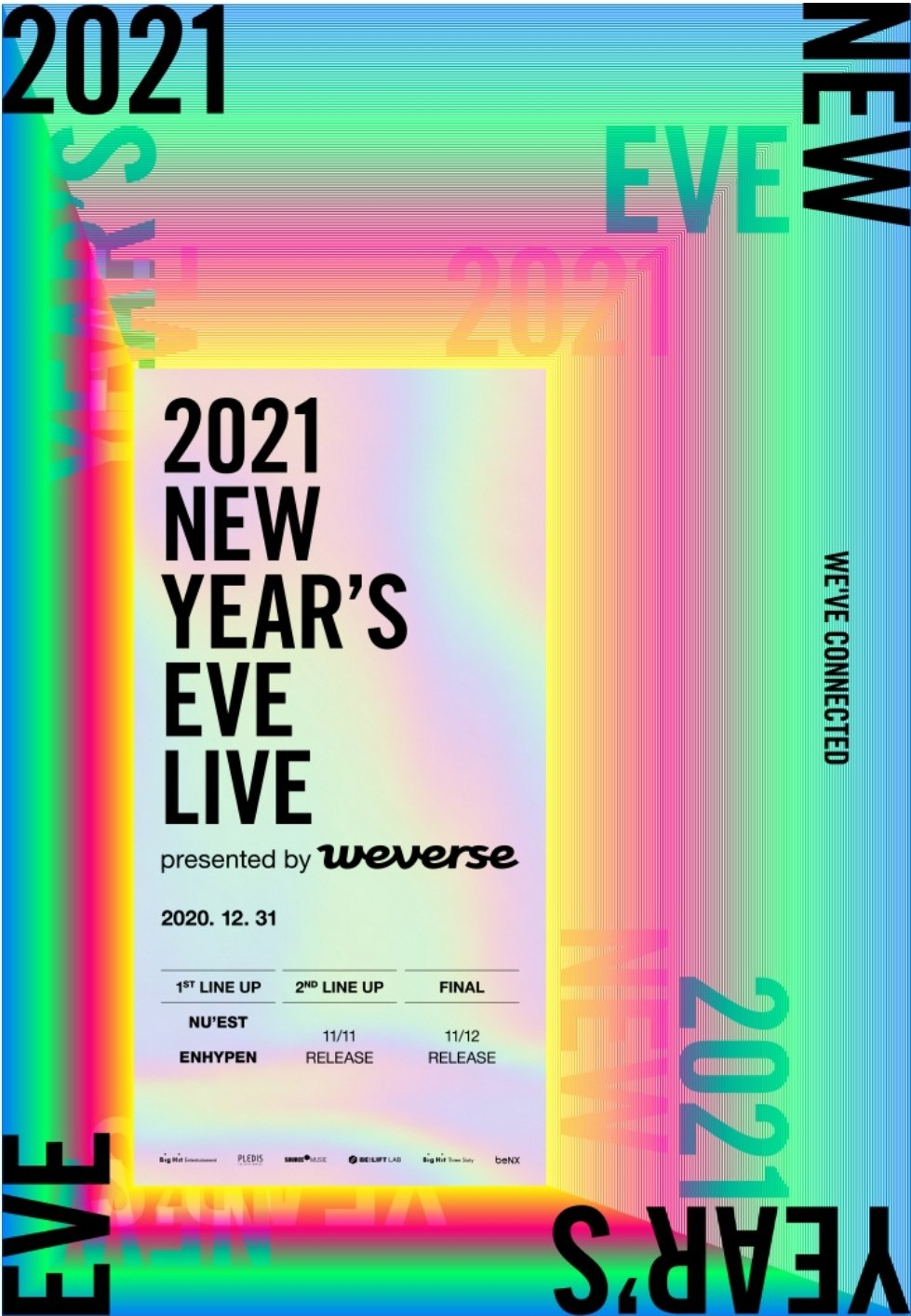 2021 NEW YEAR'S EVE LIVE By Weverse: Lineup And Live Stream | Kpopmap - Kpop, Kdrama and Trend ...