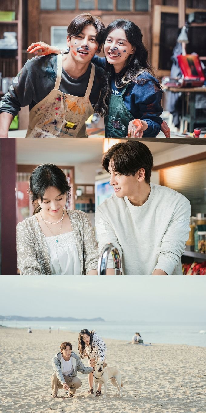 """Ji ChangWook & Kim JiWon Have Amazing Chemistry In First Pictures Of """"City Couple's Way Of Love: My Lovely Camera Thief"""""""