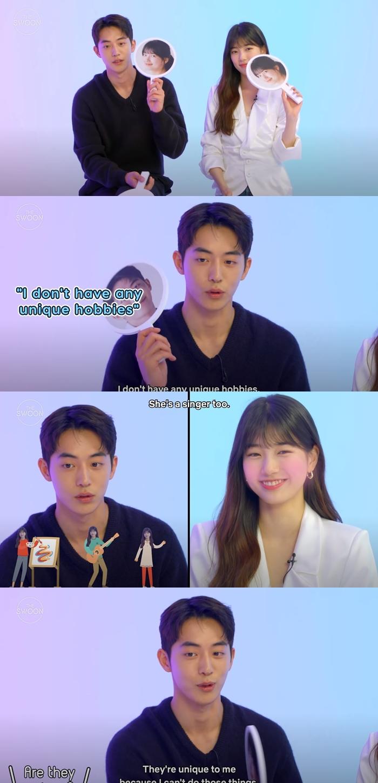 Suzy & Nam JooHyuk Talk About Their Unique Hobbies