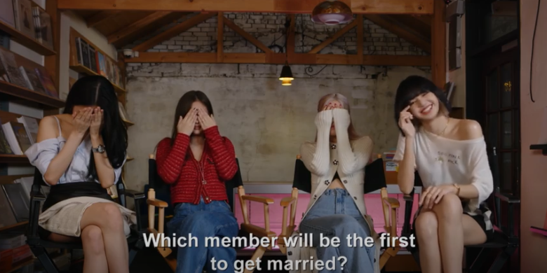 Which BLACKPINK Member Would Go Camping Alone & Get Married Fastest?