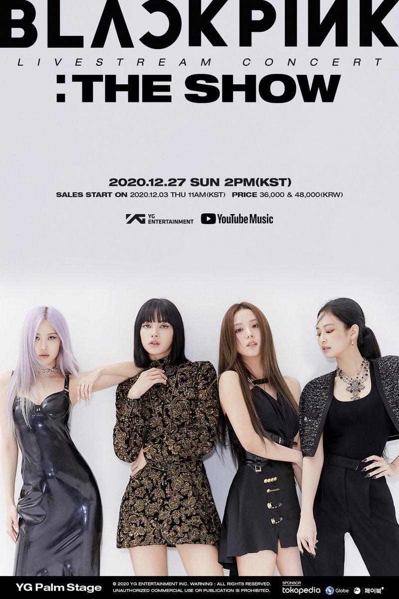 "2020 ""BLACKPINK: THE SHOW"" Online Concert: Live Stream And Ticket Details"