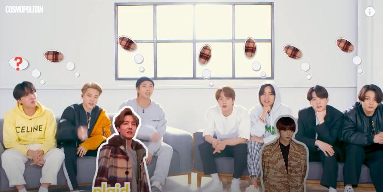 Участники BTS и их выбор модных тенденций