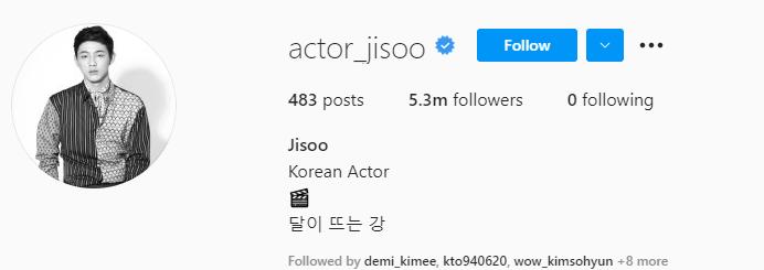 Top 20 Most Followed Korean Actors On Instagram & 80 Other Actors' Instagram