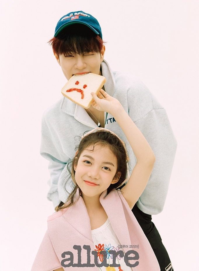"AB6IX's DaeHwi Appears On ""Allure"" Magazine With Adorable Niece"
