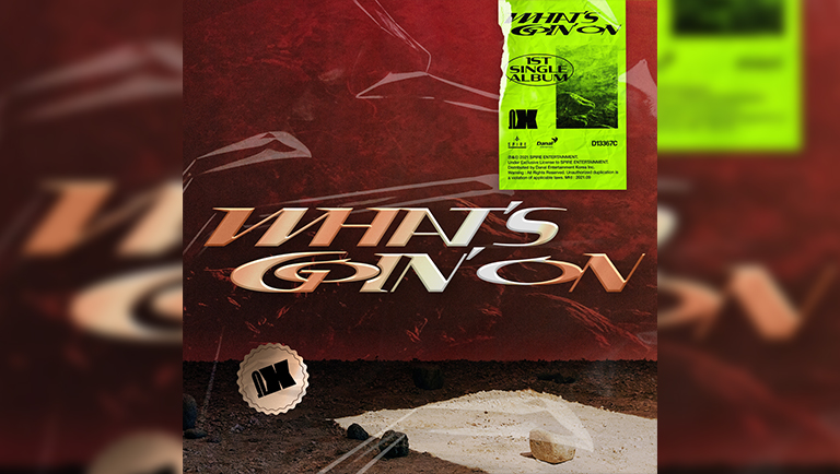 Album - 1st Single Album<br> Title - 'WHAT'S GOIN' ON'<br> <a href=