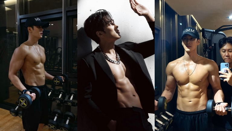 Top 13 Male Korean Actors With The Best Abs