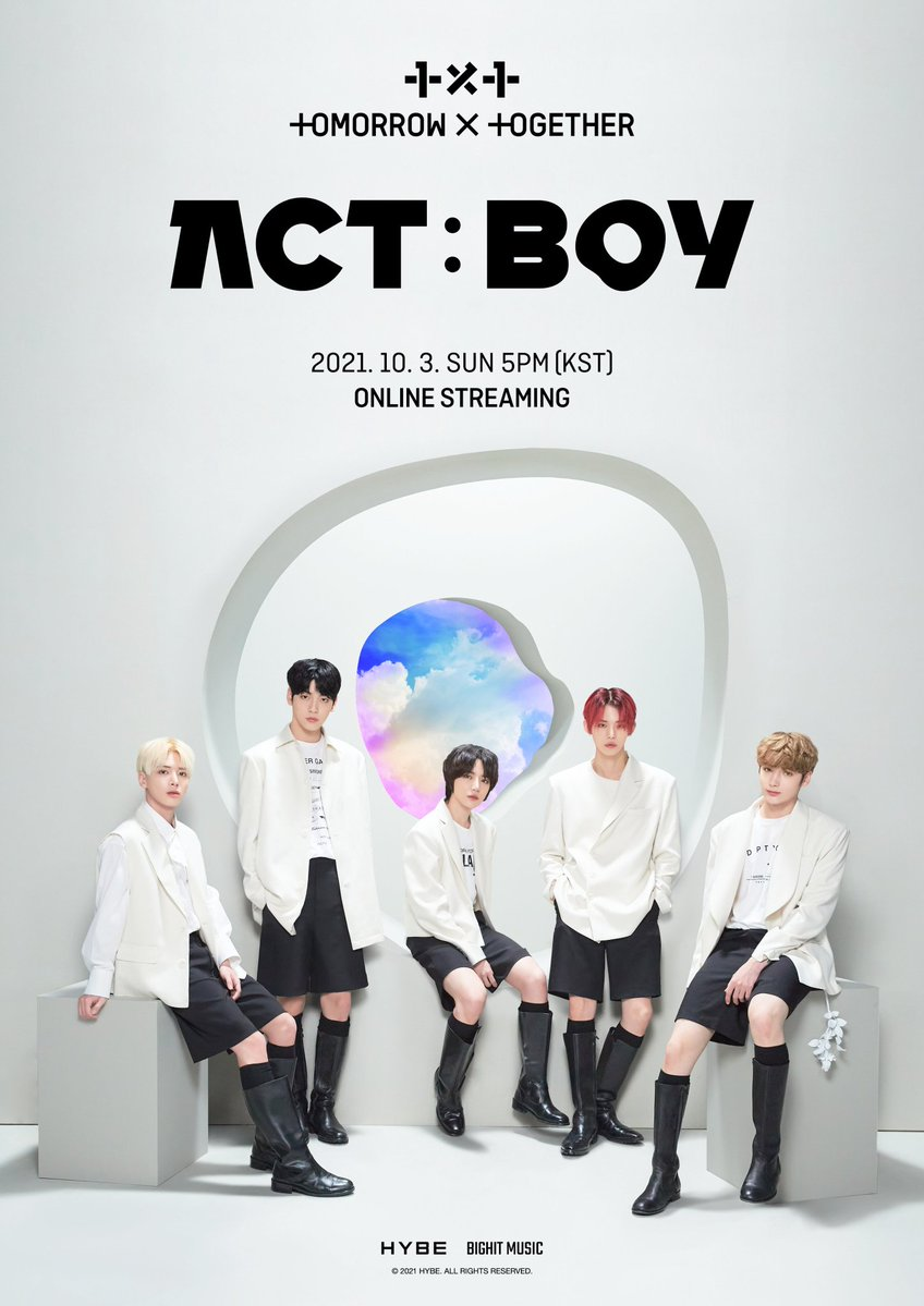 TOMORROW X TOGETHER LIVE [ACT: BOY] Online Concert: Live Stream And Ticket Details