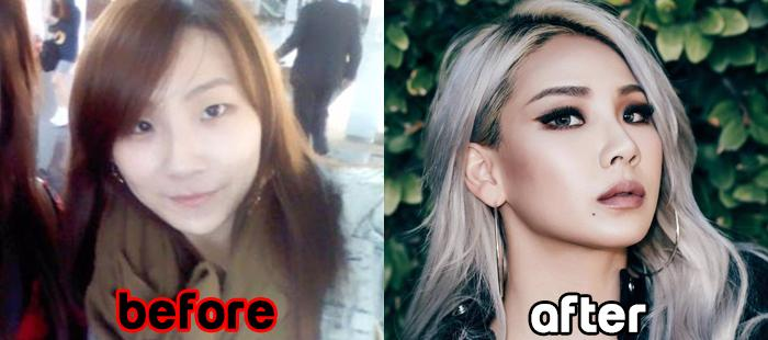 makeup before and after korean - photo #29