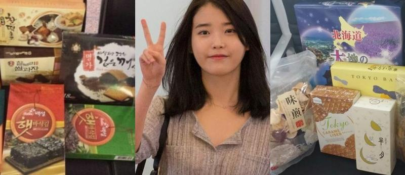 Comeback Idol Groups' Food Support For Their Fans